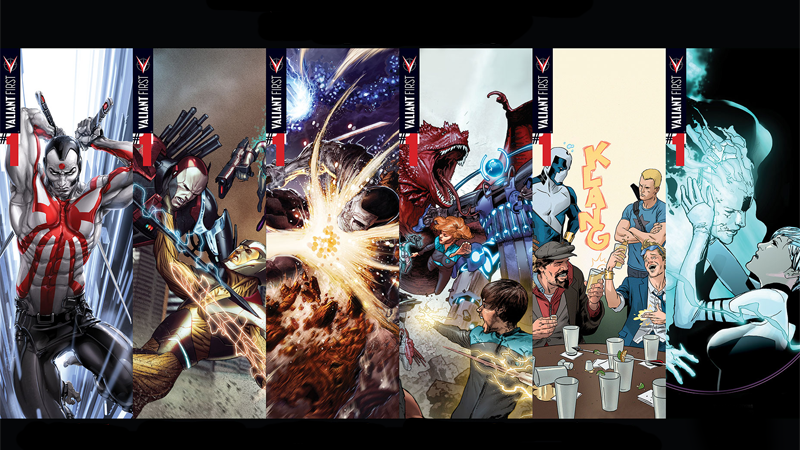 Why Valiant Comics Are A Fantastic Alternative To Marvel And DC