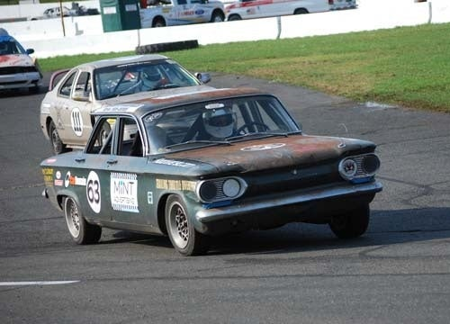 What's It Like Road Racing a '63 Corvair Sedan?