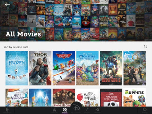 New App Lets You Stream All the Disney Movies You Own In One Place