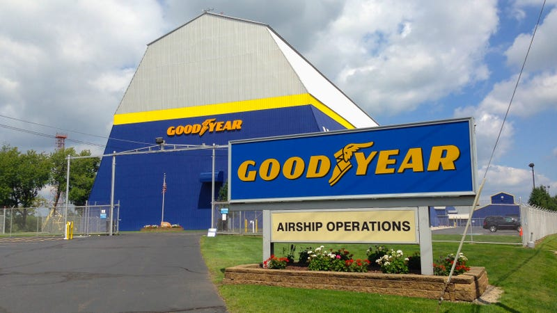 Goodyear Christens New 'Wingfoot One' Zeppelin, Says Bye To Blimps