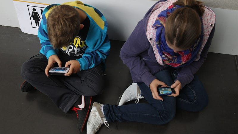 12 Is the New Age to Demand a Cell Phone, Kids