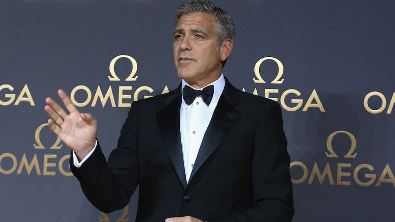 George Clooney Wants to Shed His Bachelor Image and Become a Senator
