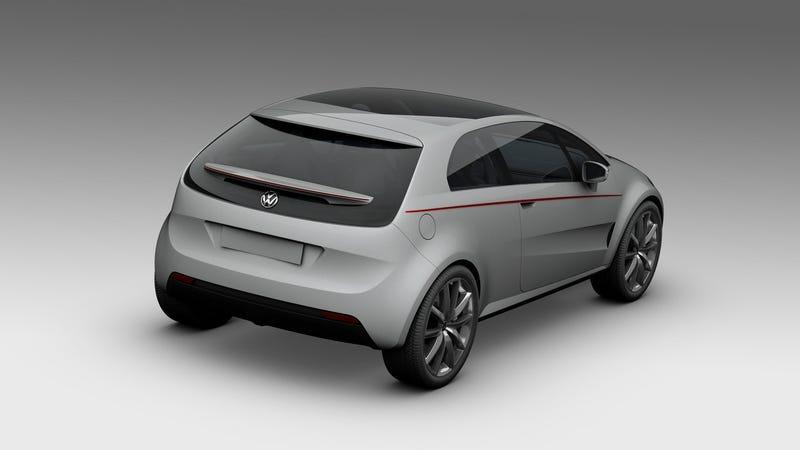 Italdesign Giugiaro Volkswagen Golf Concept: Leaked Photos