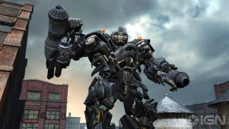 Next Transformers Video Game Features Heavily-Armed Cars