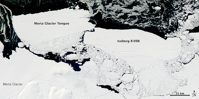 When an Iceberg the Size of a Country Breaks Free, What Happens?