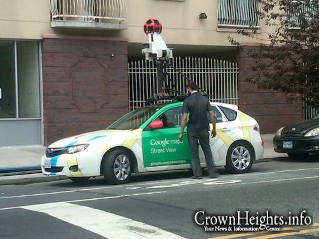 Google Maps Street View car breaks down in Brooklyn