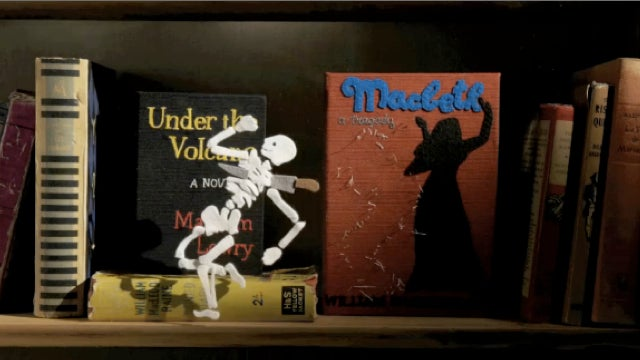 This short film by Spike Jonze is like Toy Story (but starring books and fellatio)