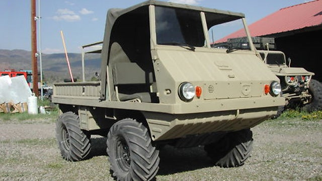 1962 Steyr Puch Haflinger is weird military truck fun in a mini package