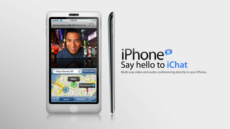 New iPhone 4G Concept Is Son of MacBook Air and iPod Touch