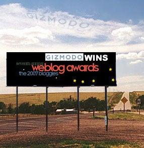 Breaking! Gizmodo Wins Two Weblog Awards