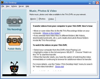 TiVo Desktop 2.4 Public Beta Gets You Format Transcoding (Not DivX)