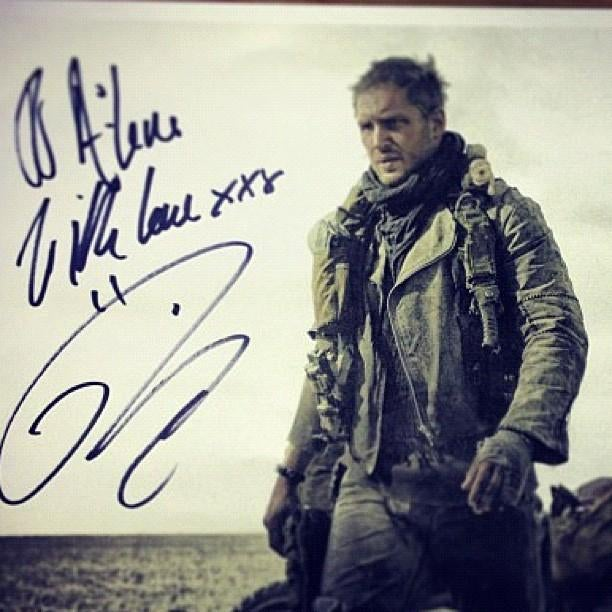 First look at Tom Hardy as the new Mad Max