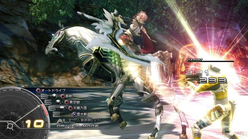 Tokyo Game Show Final Fantasy XIII Demo Impressions