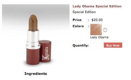 Paint Your Lips in Shades of 'Lady Obama'