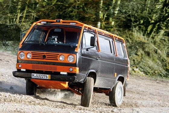 Volkswagen T3 Retrofitted For Wilderness Espionage
