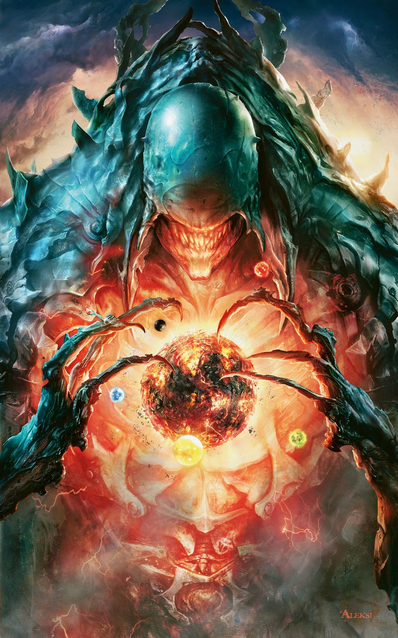 The Phyrexians take over in Magic: the Gathering's upcoming expansion