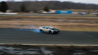 Drifting at Englishtown, NJ. This was a couple weeks? months? back, at the last event of 2014.