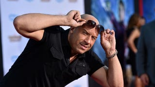 Caption This Pic of Vin Diesel at the <em>Guardians Of The Galaxy</em> Debut