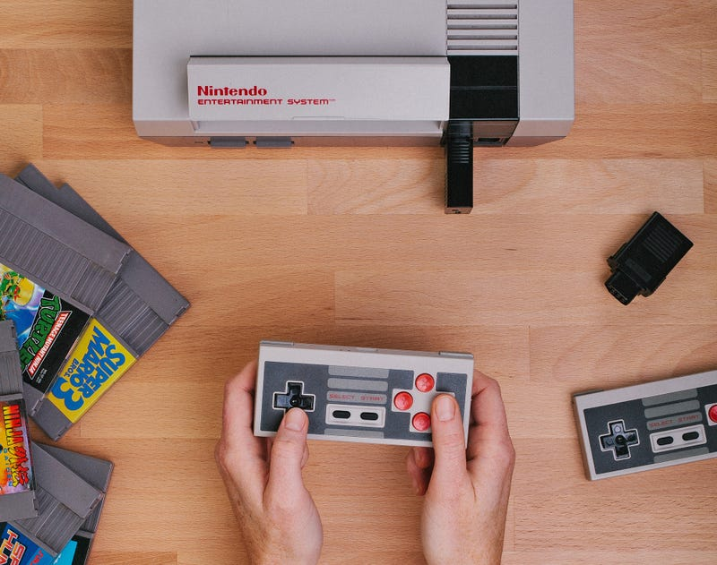 Wireless Adapter Lets You Use a PS4 Controller on Your Classic 8-Bit NES Console