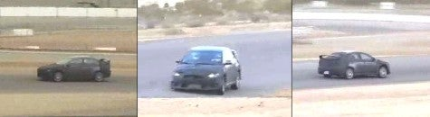 Spy Photos: Mitsubishi Evo X at Willow Springs