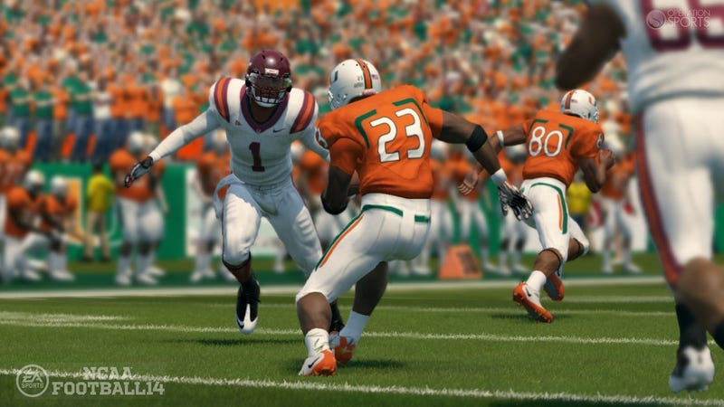 NCAA Football 14 Promises It Won't Give You the Same Old Line This Year