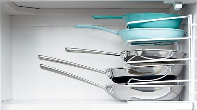 Stack Pans with a Bakeware Organizer