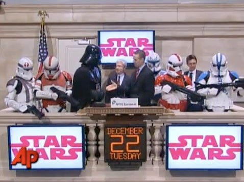 The Galactic Empire Takes Control of Wall Street