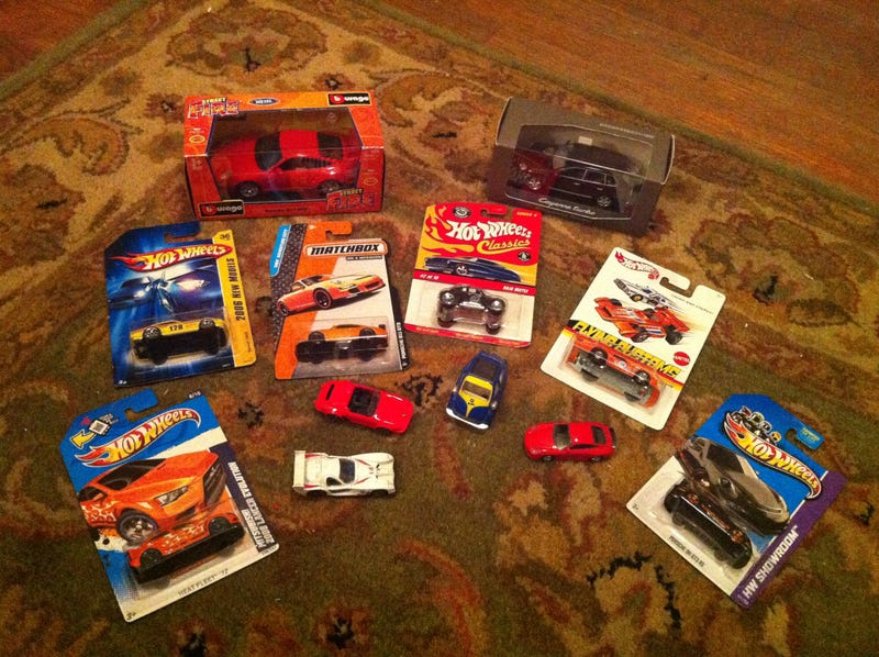 Stef's Toy Car Stash