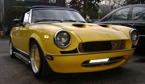 Looking For A... Ferrari? 1983 Pininfarina Spider Azzura