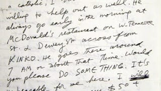 Terrible Sentences I've Endured: Jail Letters!