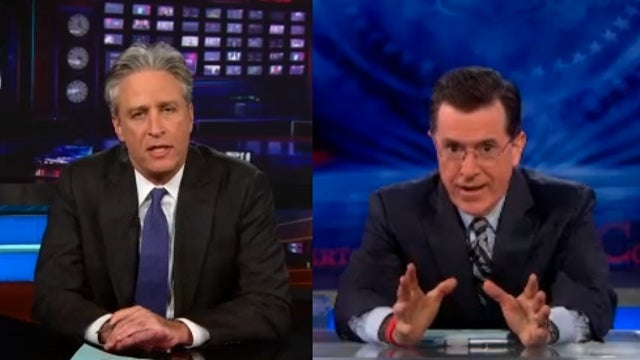 ICYMI: Jon Stewart and Stephen Colbert Open Their Shows With Emotional Words of Support for Boston
