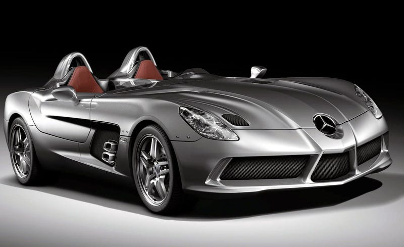 2009 Mercedes McLaren SLR Stirling Moss