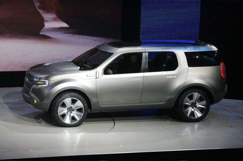 Detroit Auto Show: Ford Explorer America Live And In The Flesh