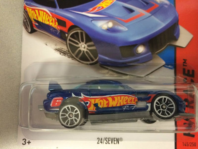 Last night's Hot Wheels Mega HAWL