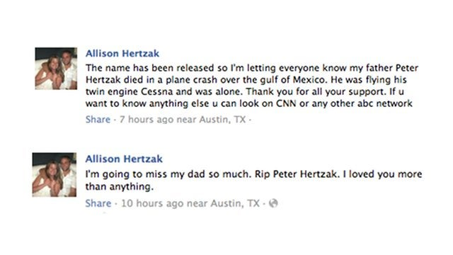 This Could Be the Unconscious Pilot Who Crashed Into the Gulf of Mexico (Update: Confirmed By His Daughter On Facebook?)