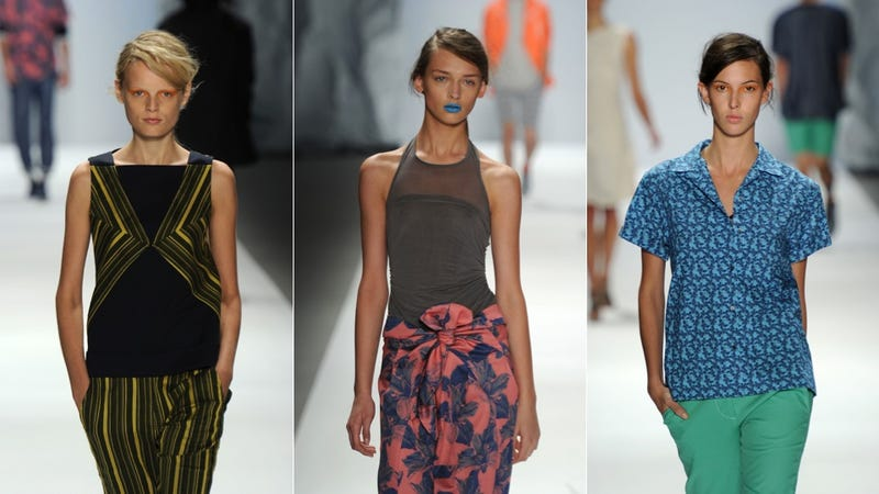 Richard Chai Brings The Color For Spring