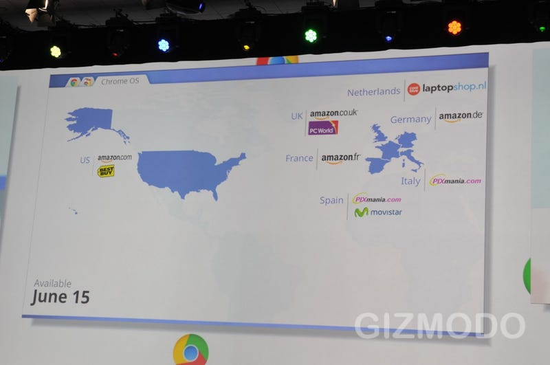 Live From Google IO: Keynote II, Chrome