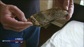 Texas Teen's Cell Phone Catches on Fire While She's Sleeping