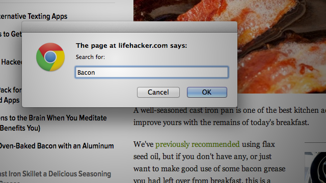 Get Firefox's Case-Sensitive Search in Chrome