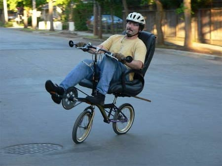Make Your Own Office Chair Bike