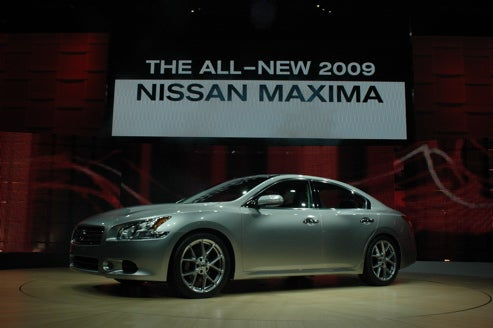 2009 Nissan Maxima Is Here, F'real This Time With Details