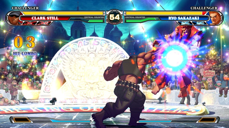 A Fistful Of King Of Fighters XII Screens