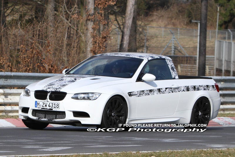 The BMW M3 Pickup is not for real
