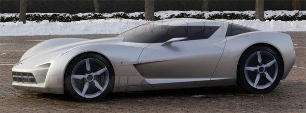 EXCLUSIVE: The Transformers Mystery Car Is The Corvette Centennial Design Concept!