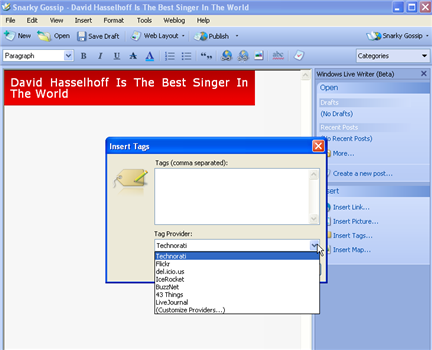 Download of the Day: Windows Live Writer (Windows)