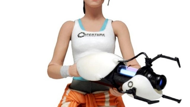 The cake is a lie, but this Portal 2 Chell action figure is not