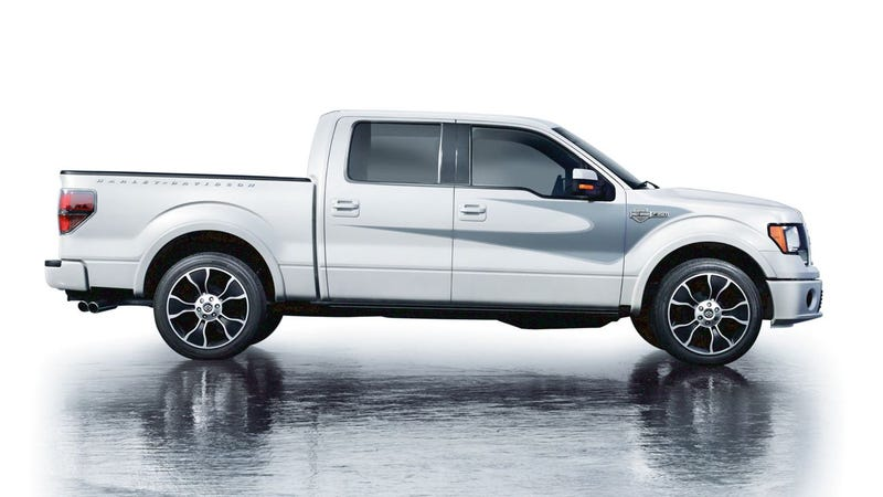 2012 Ford Harley-Davidson F-150 is a tribal tattoo in truck form