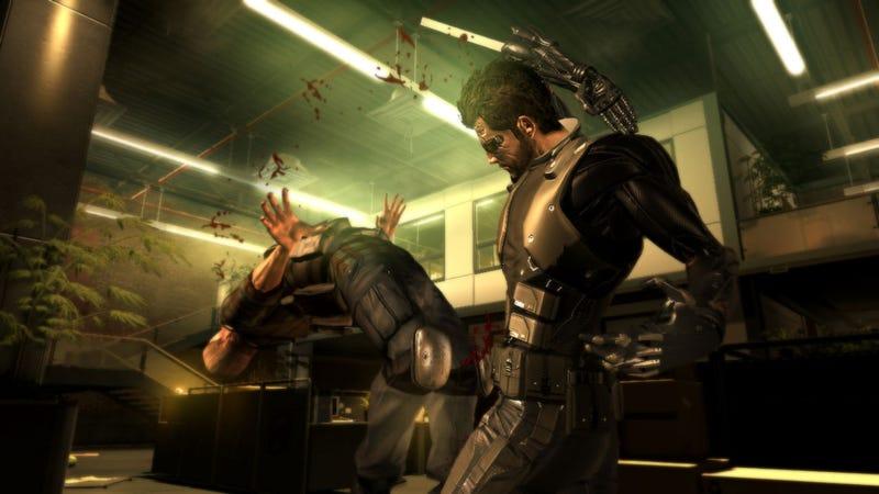 Deus Ex: Human Revolution Screens Are Pure Gold