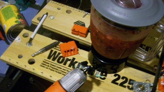 Temporarily Bring a Broken Blender Back to Life with an Electric Drill