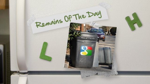 Remains of the Day: Google Kicks Underused Services to the Curb